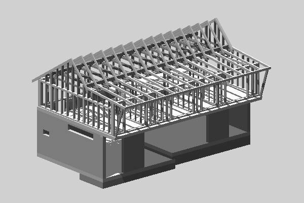 Novostavba - atypický nízkoenergetický RD